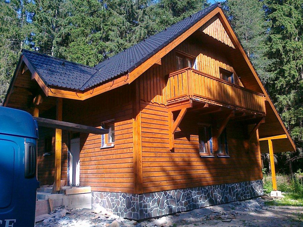 Montované domy, chaty